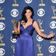 Shohreh Aghdashloo à la 61e cérémonie des Emmy Awards à Los Angeles, le 20 septembre 2009.