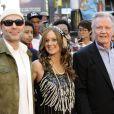 James Haven et son père Jon Voight à la première du film World War Z à New York, le 17 Juin 2013.