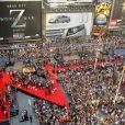 Le fameux Z et tapis rouge à la première du film World War Z à New York, le 17 Juin 2013.