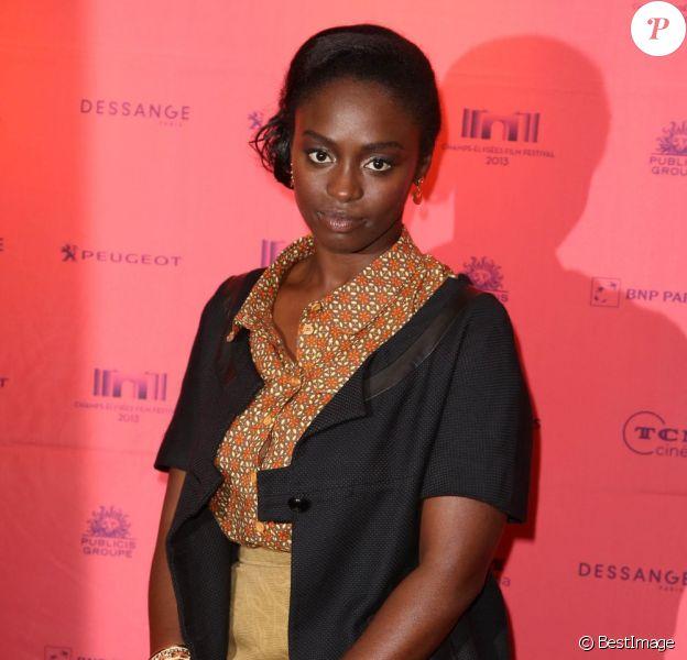 Aissa Maiga lors de la présentation du film Aya de Yopougon dans le cadre du Champs-Elysées Film Festival le 17 juin 2013