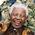 Nelson Mandela à Londres le 29 juin 2008.
