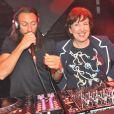 Roselyne Bachelot et Bob Sinclar au lancement de son nouvel opus  Paris by Night à la Gaité Lyrique à Paris, le 2 avril 2013.