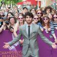 Darren Criss à la première du film Imogene en clôture du Champs-Elysées Film Festival à Paris, le 18 juin 2013.