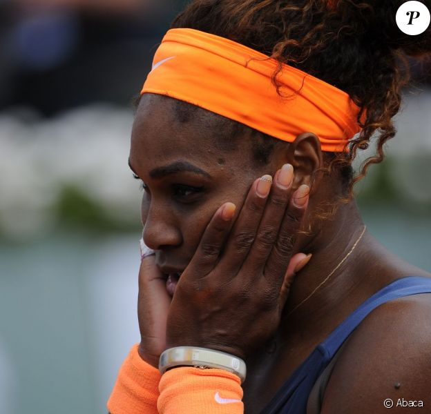 Serena Williams à Roland-Garros le 8 juin 2013