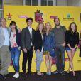Régis Wargnier, Rachida Brakni enceinte, Jérémie Elkaïm, Sylvie Testud, Léa Drucker, Fred Testot, Ana Girardot, Géraldine Nakache au photocall de lancement de la Fête du Cinéma 2013 à Paris, le 19 Juin 2013.