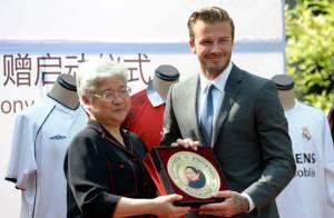 David Beckham : Hystérie, bousculade et blessés lors de sa visite en Chine