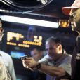 """Avec Denzel Washington dans USS Alabama."""