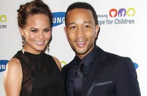 Chrissy Teigen : La fiancée de John Legend se déshabille pour GQ