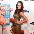 Chrissy Teigen lors du lancement du magazine Sports Illustrated Swimsuit à New York  le 14 février 2012