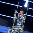 """Exclusivité - Jenifer lors de l'enregistrement de la soirée """"Samedi soir on chante France Gall"""", diffusée ce samedi 1er juin sur TF1."""
