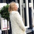 Kate Moss en plein shooting à Londres le 24 juin 2013