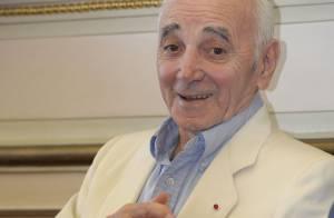 Charles Aznavour et Omar Sharif, émus et fiers : Marseille leur rend hommage