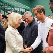 Wimbledon 2013: Camilla Parker Bowles, Richard Gasquet, une rencontre inattendue