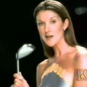 Céline Dion : Hôtesse de l'air, golfeuse... Ses pubs les plus hilarantes !