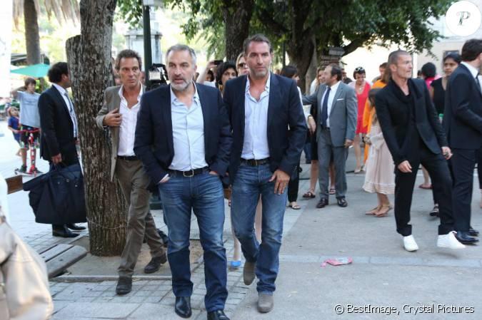 Jean dujardin et son fr re au mariage civil de thomas for Dujardin jean marc