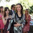 Bérénice Bejo au mariage civil de Thomas Langmann et Céline Bosquet à la mairie de Sartène, Corse du sud, le 21 juin 2013.