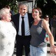 Richard Anconina à la mairie de Sartène, Corse du sud, le 21 juin 2013.