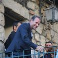 Jean Dujardin à la mairie de Sartène, Corse du sud, le 21 juin 2013.