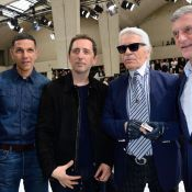 Fashion Week : Gad Elmaleh et Karl Lagerfeld, duo inédit pour Dior Homme