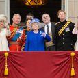La duchesse de Cambridge Kate Middleton lors des cérémonies de Trooping the Colour le 15 juin 2013 à Londres.