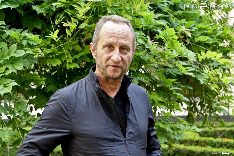 Benoît Poelvoorde lors de la conférence de presse du film Le Grand méchant loup à l'hôtel Hermitage de Lille le 25 juin 2013
