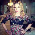 Madonna peut aussi être ravissante sur Instagram. Photo postée le 27 juin 2013.