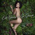 Lisa Edelstein pose nue pour la PeTA