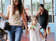 Katie Holmes : Un gros câlin avec sa fille Suri Cruise, pimpante en robe d'été