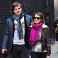 Emma Roberts et Evan Peters à New York le 7 janvier 2013.