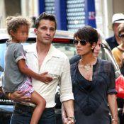 Halle Berry enceinte et Olivier Martinez, mariés : Retour à la maison avec Nahla