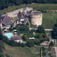 Château des Condé à Vallery ou a eu lieu le mariage d'Halle Berry et Olivier Martinez le 13 juillet 2013.