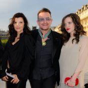 Bono décoré devant sa femme, sa sublime fille Eve et le top Natalia Vodianova