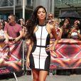Nicole Scherzinger lors des auditions d'X Factor UK à Londres le 18 juillet 2013.