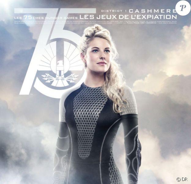 Cashmere, du District 1, sera de la partie dans Hunger Games 2.