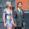 Exclu : Rebecca Romijn et Jerry O'Connell, invités au mariage de Jesse Tyler Ferguson et Justin Mikita le 20 juillet 2013 à New York.