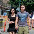 Exclusif - Prince Jackson et sa petite amie Remi Alfalah à Malibu, le 12 juillet 2013.