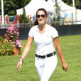 Jessica Springsteen lors du jumping de Chantilly le 19 juillet 2013