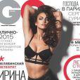Irina Shayk photographiée par David Roemer pour le numéro d'août 2013 du magazine GQ.