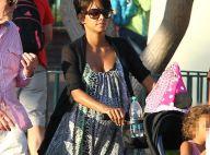 Halle Berry enceinte : Active et rayonnante avec Nahla à Disneyland