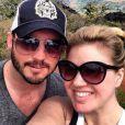Kelly Clarkson et Brandon  Blackstock, posent sur Instagram, le 14 février 2013.