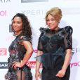 """"""" Tionne 'T-Boz' Watkins et Rozonda 'Chilli' Thomas de TLC à Chiba, le 22 juin 2013. """""""