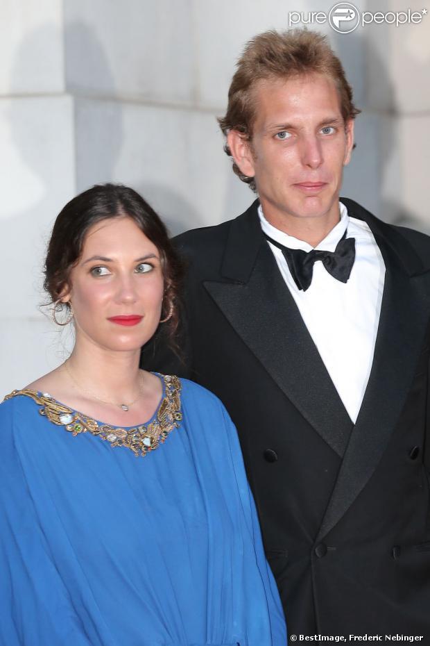 Tatiana Santo Domingo et son fiancé Andrea Casiraghi au Love Ball organisé par Natalia Vodianova au profit de la Fondation