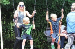 Gwen Stefani : Maman sereine et en vacances à Londres avec ses deux garçons