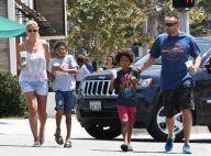 Heidi Klum : Cool et estivale, virée détente avec les trois hommes de sa vie