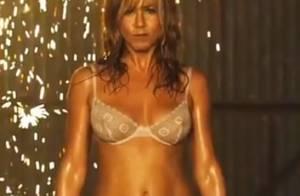 Jennifer Aniston : Les dessous affriolants de son strip-tease déjà culte