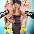 Jennifer Aniston lors de l'avant-première du film Les Miller - une famille en herbe à New York le 1er août 2013