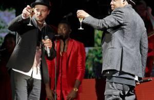 Justin Timberlake et Jay-Z : Champagne en plein concert, les fans conquis