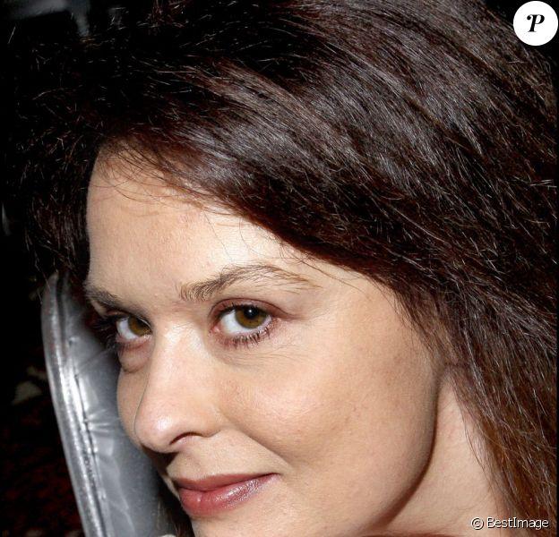 Cynthia Sardou en décembre 2010 à Paris.