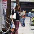 "Jennifer Garner sur le tournage du film ""Imagine"" à Los Angeles, le 31 juillet 2013."