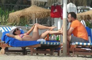 Eva Longoria : Sexy en bikini à la plage devant son Ernesto, in love et conquis